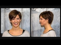 long to short pixie haircut women | extreme hair makeover | hairstyles 2018 by Alves & Bechthold - YouTube
