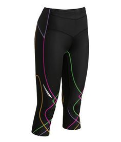 3/4 StabilyX™ Tights provides supreme support to the core, lower back, lower abdominals and knees. $149