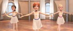 Elle Fanning in Ballerina Best Friends Cartoon, Friend Cartoon, Zoella, Ballet Leap, Leap Movie, Ballerinas, Ballet Music, Emily The Strange, Pony Style