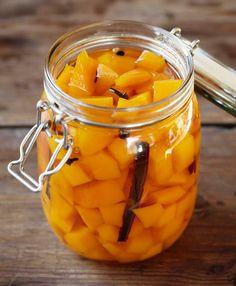 Har du for mye gresskar, sylt det og bruk det med ost, vilt eller fjærkre.