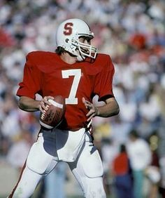 G ED MCCAFFREY STANFORD UNIVERSITY CARDINAL 8X10 SPORTS ACTION PHOTO