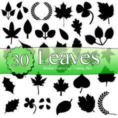 Brother Scan n Cut Leaf Cutting Files