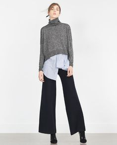 Image 1 of POLO NECK SWEATER from Zara