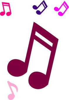free music note clipart liked on polyvore polyvore pinterest rh pinterest com musical note clipart free free animated music note clip art