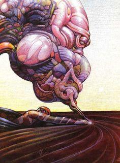 thevaultofretroscifi:Moebius