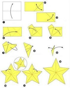 de origami Magia da Arte: **Estrela de origami e Kusudama Tri. - Magic of Art: ** Origami Star and Kusudama Tri .