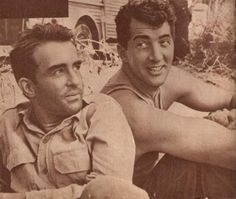 Dean Martin and Montgomery Clift- THE YOUNG LIONS