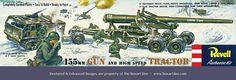 Revell 155 mm Gun & High Speed Tractor