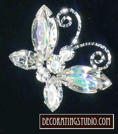 Decorating Studio LLC Rhinestone bouquet picks
