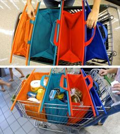 Facile Bag The Easy Way To Shop, No More Plastic Bags No More Contaminating  The