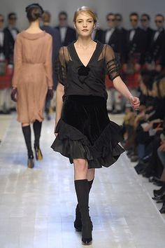 Moschino Fall 2006 Ready-to-Wear Fashion Show - Barbara Berger