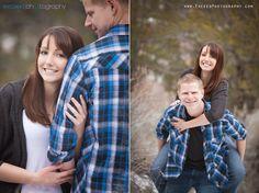WINTER ENGAGEMENT PHOTO SESSION, Creative Engagement Photos, Fun Engagement Photos, Exceed Photography, Las Vegas Photographer