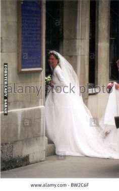 Lady Sarah Chatto (nee Armstrong-jones) And Daniel Chatto Wedding Stock Photo, Picture And Royalty Free Image. Pic. 32630263
