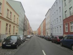 sunday ... one street in Schwerin