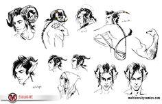 Check Out Fiona Staples' Saga Process Pieces [Exclusive] | Multiversity Comics