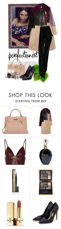 """""""You gotta fight for what you want"""" by ionara ❤ liked on Polyvore featuring Oris, Hermès, 3.1 Phillip Lim, T By Alexander Wang, Roberto Cavalli, Elizabeth Arden, Yves Saint Laurent and Rupert Sanderson"""
