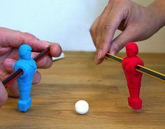 有趣的辦公室文具小物-橡皮擦足球小人