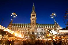 Hamburg Christmas Market, Germany