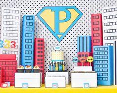 super herois aniversario convites - Pesquisa Google