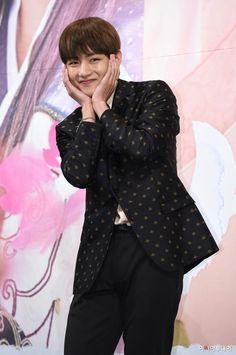 Kim Taehyung ❤ At the Hwarang Press Conference ❤ #BTS #방탄소년단