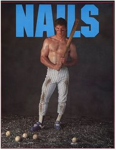 6ecaaaf89 Another one of my fave posters.Lenny Dykstra when he was a hot man and hot  player.What a waste.