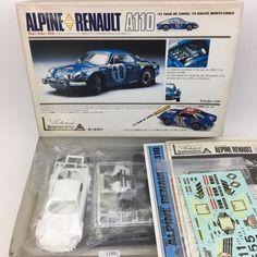 """UNION """" ALPINE RENAULT A110 """" 1 24 Scale Car Plastic Model Kit No MC71 Japan #Union"""