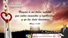 #LaÚnicaEsperanza con el Pr. Alejandro Bullón