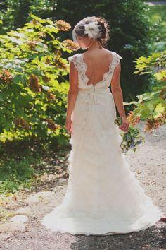 pretty back of dress