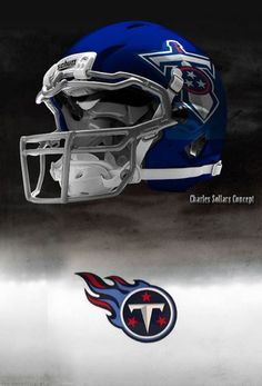 Some think they suck, some think they're cool. New Nfl Helmets, Football Helmet Design, College Football Helmets, Sports Helmet, Nfl Football, Football Stuff, Titan Helmet, Tennessee Titans Football, American Football League