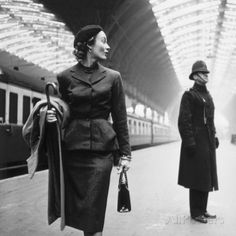 Victoria Station, London Poster by Toni Frissell at AllPosters.com