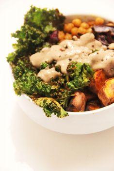buddha bowl, recette végétarienne par Not Parisienne