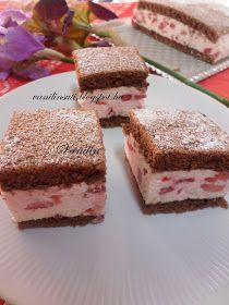 Krispie Treats, Rice Krispies, Tiramisu, Food And Drink, Cooking, Cake, Ethnic Recipes, Desserts, Strawberries