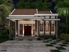 Trendy Home Exterior Minimalist Window Ideas Modern Small House Design, Small Modern Home, Modern House Plans, Minimalist Window, Minimalist Home, Home Bar Plans, Keramik Design, Bungalow House Design, Loft