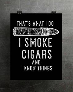 This Cigar Decor Cigar Art Print Cigar Lover Gift Cigar Art is just one of the custom, handmade pieces you'll find in our giclée shops. Cigars And Whiskey, Good Cigars, Pipes And Cigars, Cuban Cigars, Scotch Whiskey, Zigarren Lounges, Cigar Quotes, Cigar Gifts, Cigar Art
