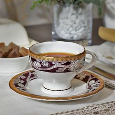 Claycraft Retro-Modern Art Cup And Saucer Set of Twelve - FabFurnish.com
