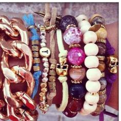 Love a good arm party!!