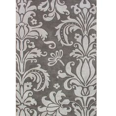 Alliyah Handmade Grey New Zealand Blend Wool Rug (8' x 10') -Sale: $358.69