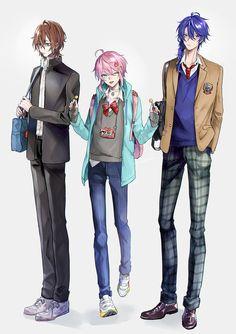 Cute Anime Boy, Anime Guys, Super Hero Life, Anime Rapper, Boys Uniforms, Rap Battle, Manga Boy, Cute Guys, Character Art