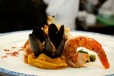 """""""Dreams"""" Seafood Special from Oceana Restaurant @Dreams Resorts & Spas #Cancun"""