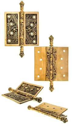 You will be amazed at how door hardware can transform your home. Visit our website today to see all the decorative door hinges we have to offer at Charleston Hardware Co. Antique Doors, Antique Hardware, Mughal Architecture, Architecture Details, Furniture Hinges, Furniture Ideas, 1920s House, Victorian Farmhouse, Garden Doors