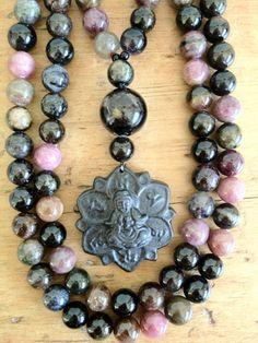 Kuan Yin mala beads