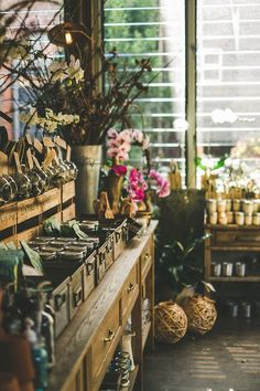 The Grounds Of Alexandria |  if you ever visit Sydney, this place definitely makes top 3 cafés to visit. this is their own florist, The Grounds Florals By Silva, whose flowers define the word swoon.