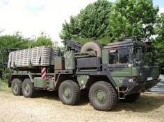 MAN 41.410 8x8 tracteur