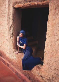 Nadja Bender by David Bellemere for Vogue Spain March 2015