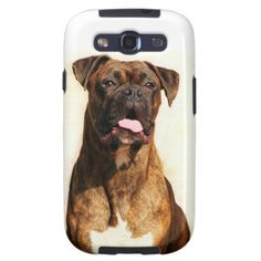 Boxer Dog Case-Mate Samsung Galaxy S3 Vibe Case  #boxer #dogs #phone #cases