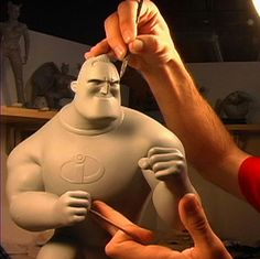 Gentle Giant Studios - #Pixar Mr. Incredible #maquette