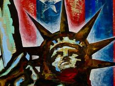 Statue of Liberty New York City Original Art by CityGallery