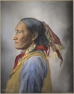 Title: Black Horse, Arapahoe Creator/Contributor: Rinehart, F. A. (Frank A.) (photographer) Copyright date: 1900 Physical description: 1 photographic print : platinum, hand-colored Summary: Genre: Platinum prints; Portrait photographs Subjects: Trans-Mississippi and International Exposition (1898 : Omaha, Neb.); Indians of North America; Arapaho Indians Notes: Rinehart No. 1562 Location: Boston Public Library, Print Department Rights:...