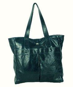 8ea737713068 Owen Barry Blue Katumba Leather Edgar Tote Shopper Shoulder Bag