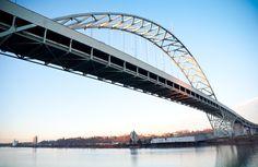 Fremont Bridge in Portland. Fremont Bridge, F Movies, Sydney Harbour Bridge, Portland, Photography, Travel, Photograph, Viajes, Fotografie